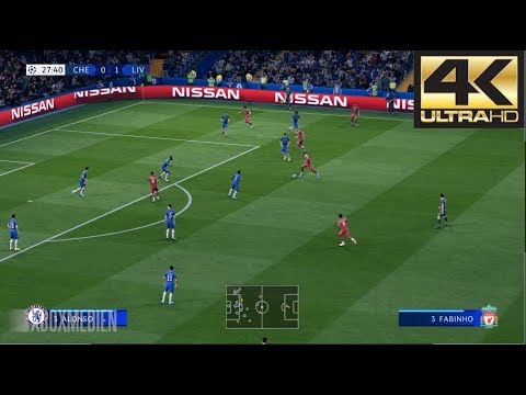 FIFA 20 4K 60 FPS Amazing Realism LIVE Broadcast Camera  Liverpool vs Chelsea