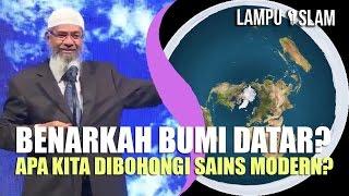 Video Benarkah BUMI Ini DATAR dan Kita DIBOHONGI Sains Modern? | Dr. Zakir Naik MP3, 3GP, MP4, WEBM, AVI, FLV Januari 2018