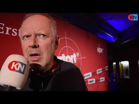 Schauspieler Axel Milberg im Metro Kino in Kiel