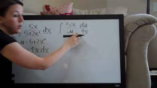 U-Substitution Example 6