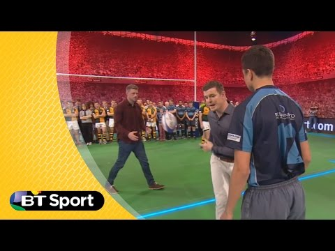 Tonight - Brian O'Driscoll and guest Rhys Preistland demo the wrap around during Rugby Tonight. Subscribe: http://bit.ly/17YTeL5 Twitter: http://twitter.com/BTSport Facebook: http://www.facebook.com/BTSpor...