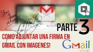 Adjuntar una firma en Gmail con imagen, como poner una firma en gmail Firma en gmail con imagenfirma gmail firma en gmailcrear una firma en gmailcomo poner una firma en gmail