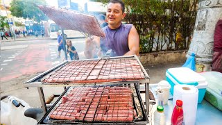 Video Street Food in Brazil - RIO DE JANEIRO Brazilian Food + Attractions in Rio, Brazil! MP3, 3GP, MP4, WEBM, AVI, FLV Juli 2019