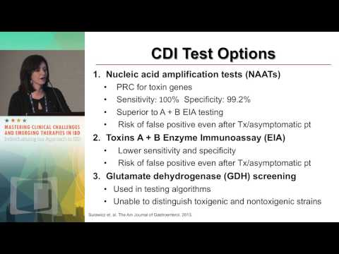 CASE DISCUSSION: Recurrent C. difficile in IBD:  How to manage, what to consider
