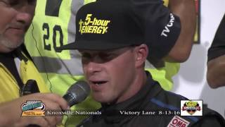 5-hour ENERGY Knoxville Nationals Victory Lane!