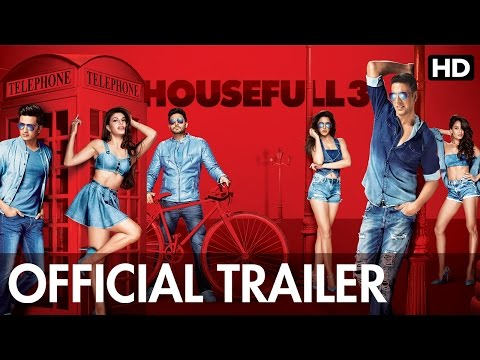 Housefull 3 Official Trailer | Watch Full Movie On Eros Now (видео)