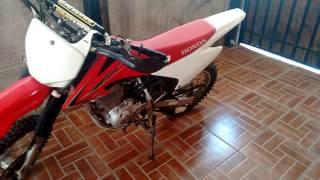 5. Honda crf 150 f 2012