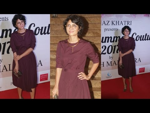 Kiran Rao At Red Carpet Of Mijwan Summer 2017