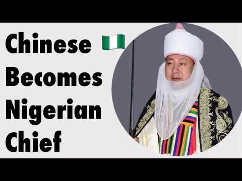 How Chinese Man Was Made A Chief In Nigeria