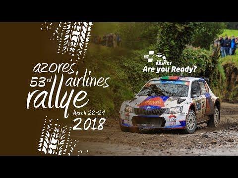 FIA ERC Azores Airlines Rallye 2018   LIVE