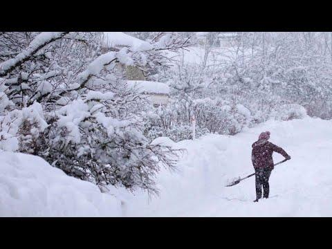 Bayern versinkt im Schnee - weitere Schneefälle sind ange ...