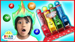 BAD KID STEALS M&M IRL & Prank Mommy Pretend Play with Ryan ToysReview! Learn Colors with Candy for Children Toddlers and Babies like Red, Blue, Green, and yellow and rainbow color! Funny Kids Pretend Play in real life with Ryan's Family that's family friendly!Learn Colors with Balloons! Baby Nursery Rhymes Song with Balloons Popping Show https://youtu.be/qO16VNx9Dpk?list=PLasCX3wfxLR0x41VacgQZUN2hYB6c1O2IBEST LEARNING COLORS for Kids Children Toddlers Video! Sesame Street Fizzy Tub Colors Surprise Toys https://youtu.be/sNoWAz6bia8?list=PLasCX3wfxLR0x41VacgQZUN2hYB6c1O2ILearn Colors with Coca Cola and Fanta for Children Toddlers and Babies! Kids Learn Colours Video https://youtu.be/HYSY-GCWSwY?list=PLasCX3wfxLR0x41VacgQZUN2hYB6c1O2IThe Ball Pit Show for learning colors! Children and Toddlers educational video https://youtu.be/upk7zoQwv0U?list=PLasCX3wfxLR0x41VacgQZUN2hYB6c1O2IPretend Play Children Activities Brushing Teeth Learning Toys for Kids Eating McDonald's Food Gross https://youtu.be/IbnVsiW-a7w?list=PLasCX3wfxLR3wiQ7qwm-83m5WyqUzwSzXPLAY DOH COOKIE MONSTER LETTER LUNCH Cookie Monster EATS PEPPA PIG Disney Cars Learn ABC Alphabet https://youtu.be/esKNMnzmZpI?list=PLasCX3wfxLR3wiQ7qwm-83m5WyqUzwSzXSQUISHY BALLS Mesh Slime Learn Colors and Animals Cut Open Squishy Splat Ball Toddlers and Kids Toys https://youtu.be/i_iNYF_NeSk?list=PLasCX3wfxLR3wiQ7qwm-83m5WyqUzwSzXTOY CUTTING VELCRO FRUITS AND VEGETABLES Toy kitchen cooking soup Learn names of fruits & Vegetables https://youtu.be/CI7wSCWqCyc?list=PLasCX3wfxLR3wiQ7qwm-83m5WyqUzwSzXLET'S GO FISHING GAME Surprise Eggs Opening Toys Family Fun Activity for Kids Learn Colors https://youtu.be/7OykPKbe5-g?list=PLasCX3wfxLR3wiQ7qwm-83m5WyqUzwSzX