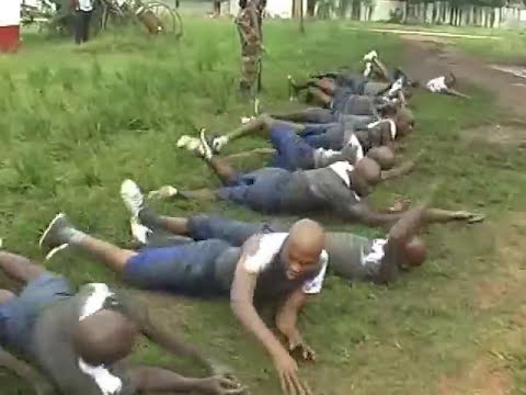 Nigerian Army Recruits On Training