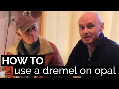 Opal Carving: How to use a dremel tool
