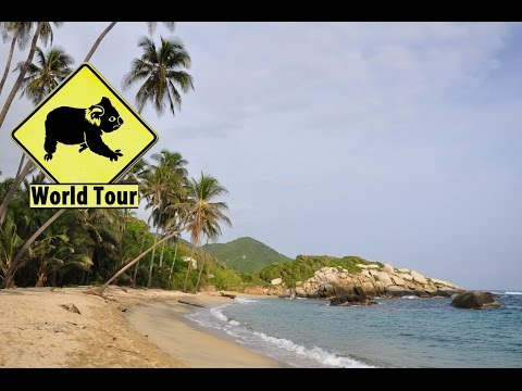 Voyage en Colombie, Parc de Tayrona, Santa Marta,(Travel Colombia) Tour du monde (around the world)