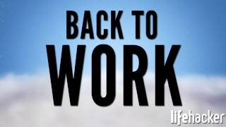 Get Back To Work: Jump Start your Productivity, Refine your To-Do List, and Move to the Cloud! - YouTube