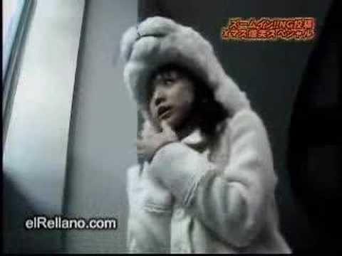 Un Oso Polar se quiere comer a una japonesa