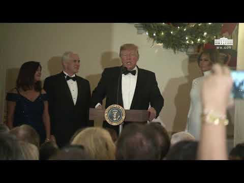 President Trump and the First Lady Deliver Remarks at the Congressional Ball