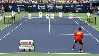 Arthur Ashe Kids Day Highlight Kim Clijsters Roger Federer Andy Roddick Serena Williams