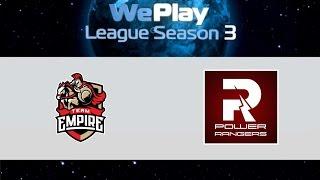 Empire vs PR, game 1
