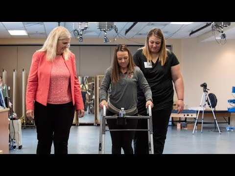 Paralyzed patients walk again with help from implants
