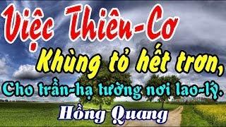 Việc Thiên-Cơ Khùng tỏ hết trơn - Hồng Quang