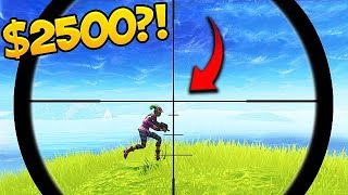 "Download Video ""I'll give you 2500$ if you hit this shot"" 😱- Fortnite Funny Fails #293 MP3 3GP MP4"