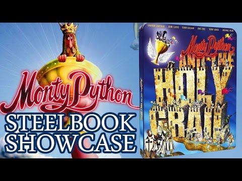 Monty Python And The Holy Grail Blu-ray Steelbook - Exclusive Showcase