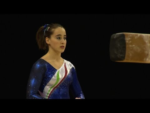 Olympic Qualifications London 2012 -- Carlotta FERLITO (ITA) - BB