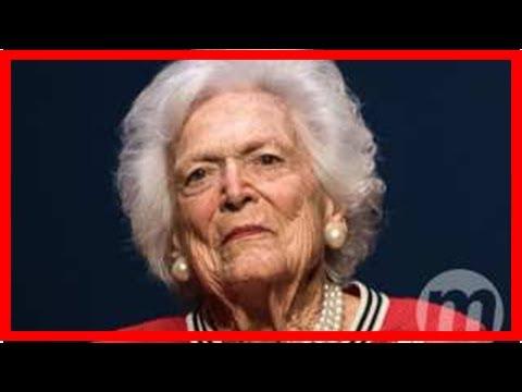 Ex-primeira-dama dos EUA Barbara Bush se recusa a receber tratamentos médicos