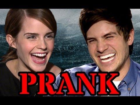 Emma Watson Surprise PRANK (видео)