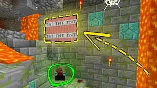 CAN YOU SURVIVE THE MINECRAFT HIDDEN BUTTON MAP..?