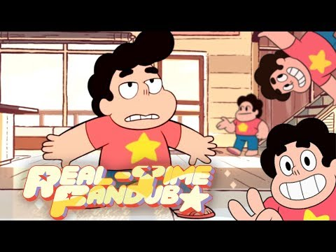Steven Universe but there's four of him - Real-Time Fandub - Steven Universe Steven And The Stevens