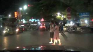 Beihai China  city photos gallery : Beihai China, Nachtfahrt durch Beihai