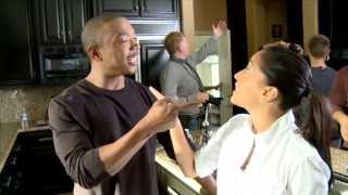 """Behind the Scenes Chemistry with Ja Rule & Adrienne Bailon in """"I'm in Love with a Church Girl"""""""