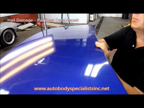 Hail Storm Damage – Paintless Dent Repair