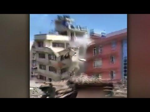 คลิประทึก! แผ่นดินไหวเนปาลระลอก 2