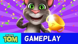 The My Talking Tom app is about more than just awesome things like eating yummy food and playing mini-games! There are super cool achievements, too. Find out about how to complete the Gamer, Cut It Out, Gourmet, Purrtastic and Vacationist achievements by watching this video.  And then get ready for even more fun playing My Talking Tom! Subscribe to my YouTube channel: https://www.youtube.com/user/TalkingTomCat?sub_confirmation=1 I'm Talking Tom, and I'm the original talking tomcat. It's great you've stopped by. If there's fun to be had, this cool cat and my friends are probably having all of it! You should definitely check out my shorts, trailers, and gameplay videos featuring me and my friends. Also, keep up to date with my crazy thoughts and ideas via my video blog Talking Tom Brainfarts. You could try looking, but you won't find a funnier guy anywhere else! Stick around!  Don't forget to explore the hilarious world of My Talking Tom. Adopt me as your very own virtual pet, dress me up the latest, greatest, and funniest outfits ever, play some really cool mini games and join in the fun. http://MyTalkingTom.com New videos get uploaded all the time. But while you wait, check out my friends' channels too! Talking Angela and Talking Ginger have some great stuff for you to watch, and you can find even more videos over on the Talking Tom and Friends channel. Stay awesome guys,Tom :) For more fun…▶︎ enjoy our Animated Series on Talking Tom and Friends channel: https://www.youtube.com/TalkingFriends ▶︎ here's the very popular Talking Angela's channel: https://www.youtube.com/TalkingTom ▶︎ don't miss out on Talking Ginger's YouTube channel: https://www.youtube.com/TalkingGinger   Talking Tom is also known as: Sprechender Kater Tom, Tom qui parle,  Tom Falante, Tom el gato parlante, Konuşan Tom, توم المتكلم