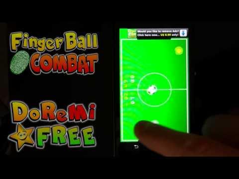 Video of FingerBall Combat Football Fun