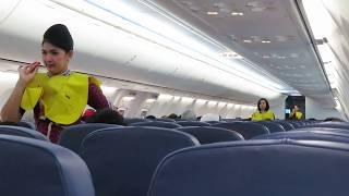 Video Pramugari Cantik Lion Air Makassar - Bandung Memperagakan  Alat Keselamatan Pesawat MP3, 3GP, MP4, WEBM, AVI, FLV Juli 2018