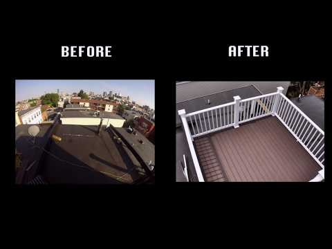 South Boston rear & roof deck GoPro Timelapse