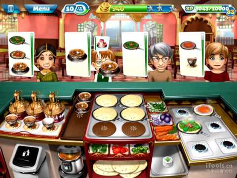 【Cooking Fever】Indian Diner Level 40 (3 Stars)
