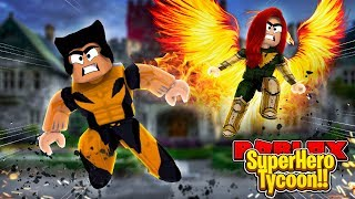 ROBLOX - WOLVERINE IN 2 PLAYER SUPERHERO TYCOON!!