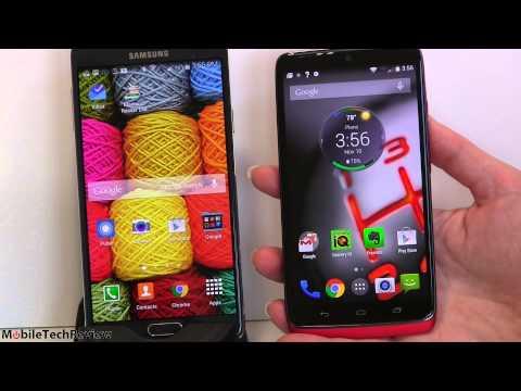 Video Motorola Droid Turbo vs. Samsung Galaxy Note 4 Comparison Smackdown download in MP3, 3GP, MP4, WEBM, AVI, FLV January 2017