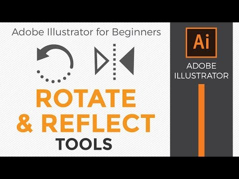 How To Use The Rotate And Reflect Tools In Adobe Illustrator