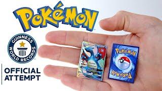 Meet The Rarest Mini Pokémon Cards Made. by Unlisted Leaf