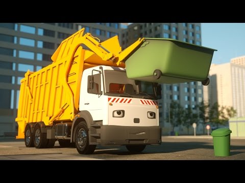 George the Garbage Truck - Real City Heroes (RCH) - Videos For Children
