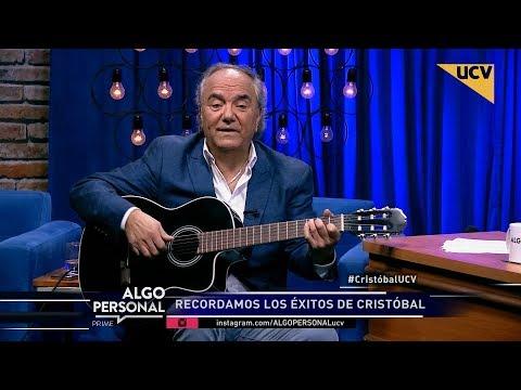 """video Cristóbal interpreta sus mejores éxitos en """"Algo Personal"""""""