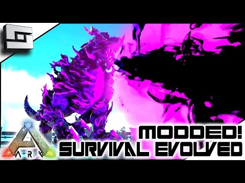 MODDED ARK: Annunaki Genesis - ELDER BLACKHEART DRAGON GOD! E14 ( Gameplay )