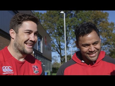 Behind the scenes with England's Brad Barritt and Billy Vunipola